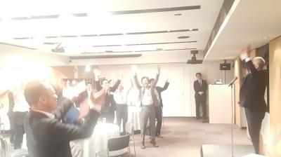 徳島県中小企業診断士懇親会の締め