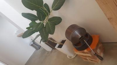 手動の焙煎機