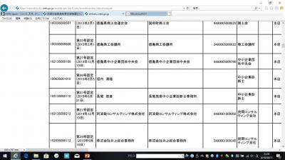 認定支援機関登録のページ
