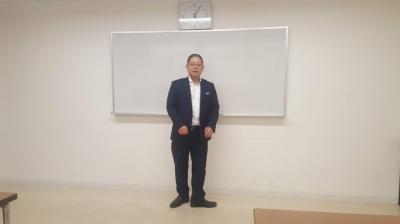 理論更新研修 高木講師