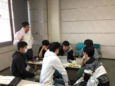 徳島大学 食品開発プロジェクトのグループディスカッション