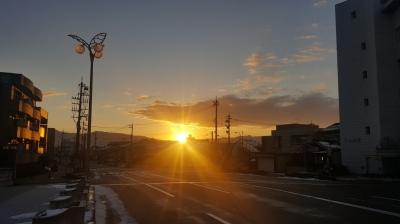 福井県での初日の出