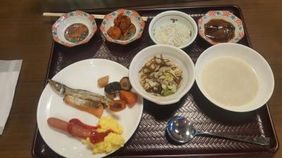 福井マンテンホテル朝食
