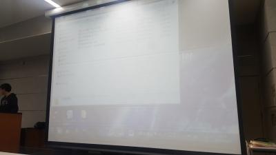 徳島大学での、ビジネスプラン発表会(生物資源)