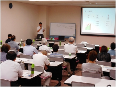 生衛業研修会でのセミナー講師