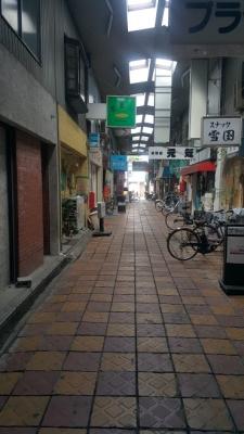 東武練馬の商店街