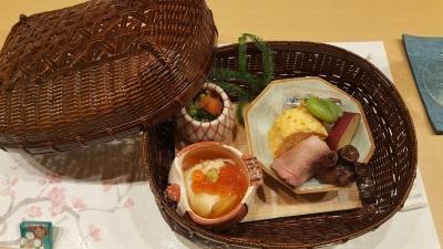 桜藍の食事2