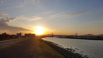 吉野川の堤防