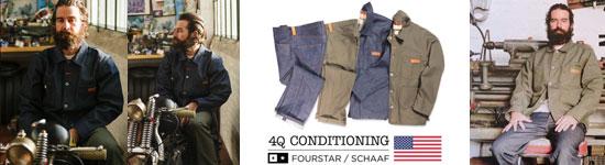 FOURSTAR × 4Q CONDITIONING マックスシャーフモデル