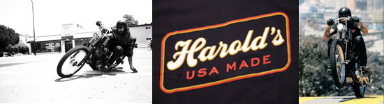 HAROLDS IRON WORKS Tシャツ