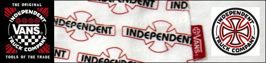 VANS × INDEPENDENT インディペンデント