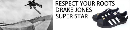 ADIDAS SKATEBOARDING �����ѡ������� DRAKE JONES