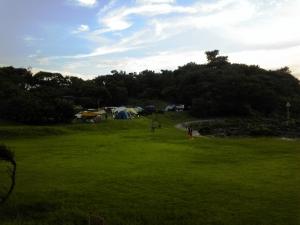 波戸キャンプ場
