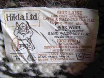 c1cf85735ed64 Hilda Ltd ノルディック柄ウールニットセーター レディースMサイズ ¥3900+Tax