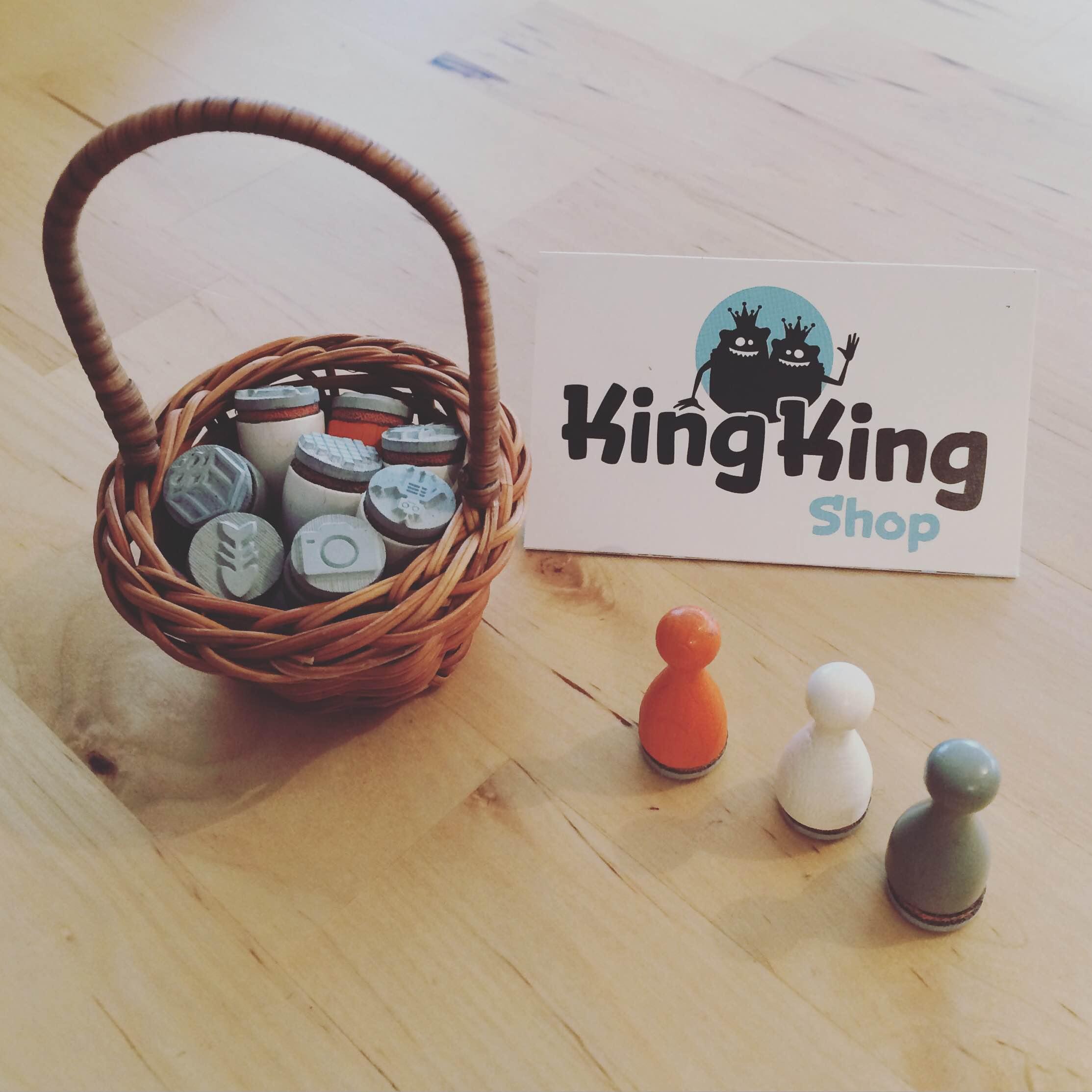 KingKing Shop Stamps
