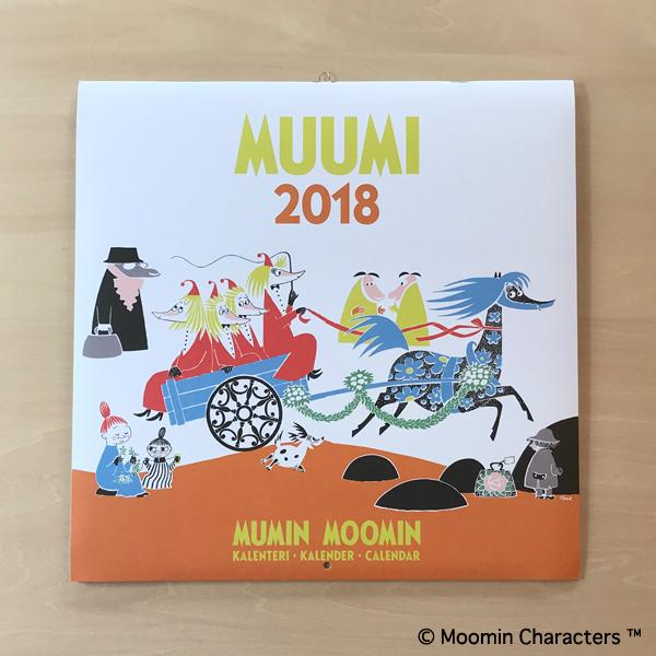 putinki ムーミンカレンダー