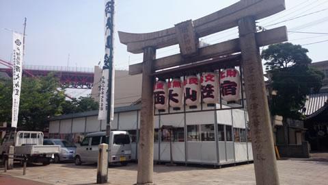 戸畑祇園西大山笠宿