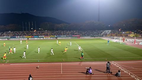 ギラヴァンツ北九州vsFC岐阜