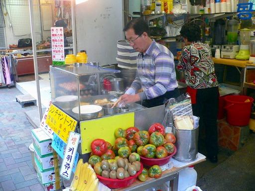 釜山・シンチャントースト