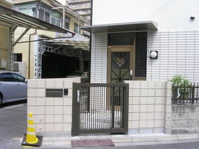 新玄関田中邸