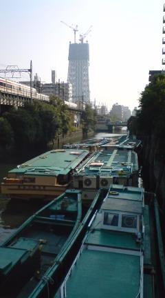 枕橋からの眺め