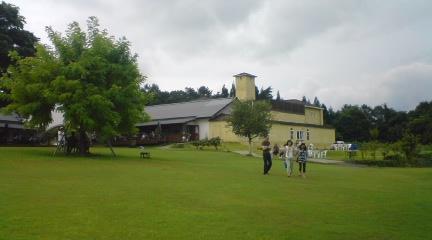 サンクゼールワイナリーの庭