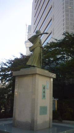 勝海舟の像