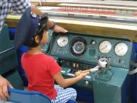 鉄道模型運転席