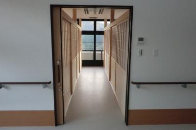 居室入口です