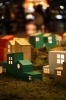 家の模型縦