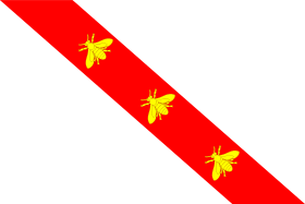 Bandiera dell'Elba(エルバ島の旗)