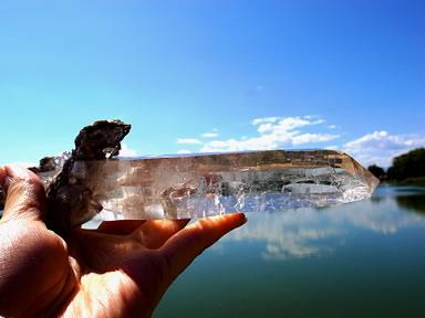ブラジル産天然ワンド水晶 ミーアクリスタル