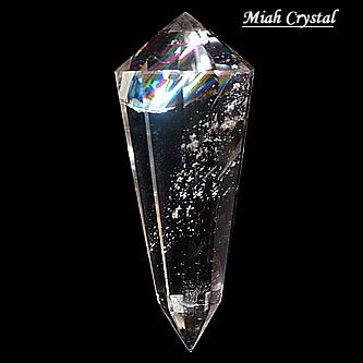 レインボー水晶ワンド 惑星宇宙 ミーアクリスタル