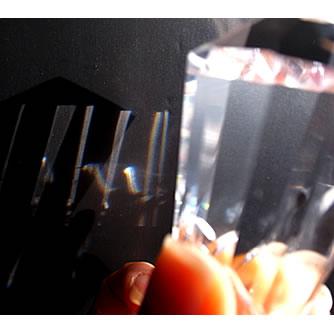 水晶 レインボーワンド 12面