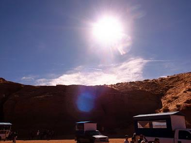 アンテロープキャニオン アリゾナ ミーアクリスタル
