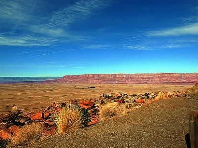 アリゾナ州ドライブ景色 ミーアクリスタル