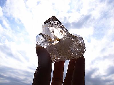 天の浮船 ハーキマーダイヤモンド ミーアクリスタル