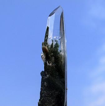 緑泥 ガネーシュヒマール産 ヒマラヤ水晶 ミーアクリスタル