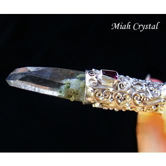 ガネーシュヒマール産 ヒマラヤ水晶ペンダント