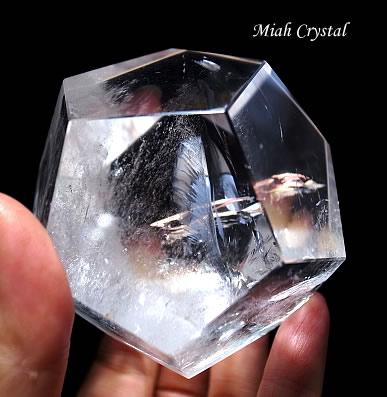 水晶の12面体 ミーアクリスタル
