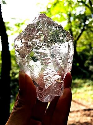 ガネーシュヒマール産ヒマラヤ水晶 ミーアクリスタル