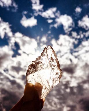 ガネーシュヒマール産 ヒマラヤ水晶 飛翔石