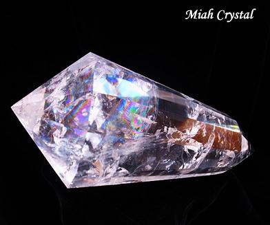 レインボー水晶ワンド ミーアクリスタル