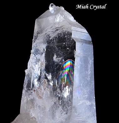 水晶の虹観音 コロンビア水晶、ミーアクリスタル