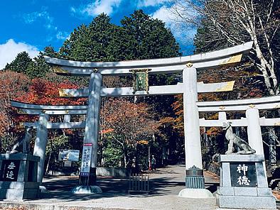 三峯神社 「三ツ鳥居」