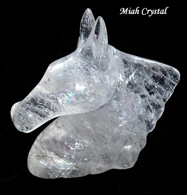 水晶ホース ミーアクリスタル