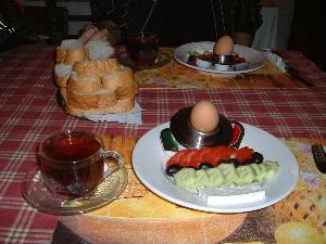 トルコの朝ごはん