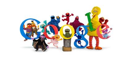 Google×セサミストリート40周年