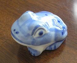 浮き蛙??