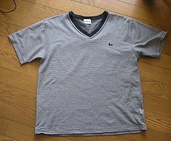 旦那のTシャツ
